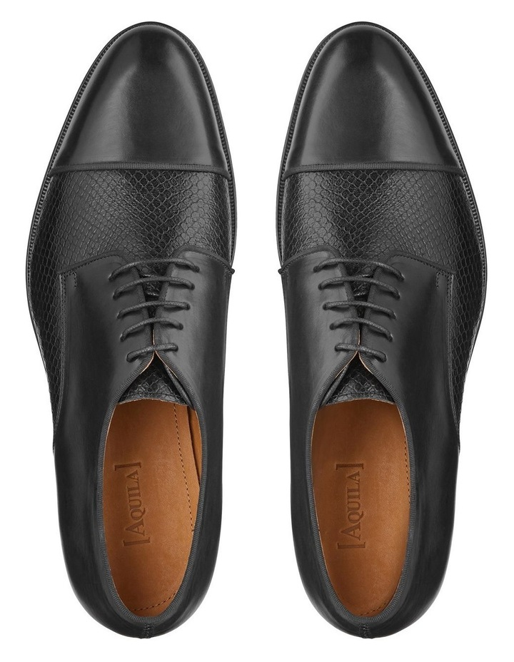 Redford Embossed Calfskin Derby Shoes image 4