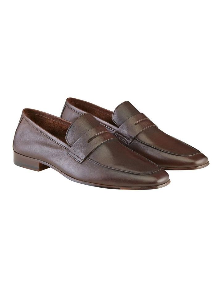 Eduardo Leather Penny Loafers image 2