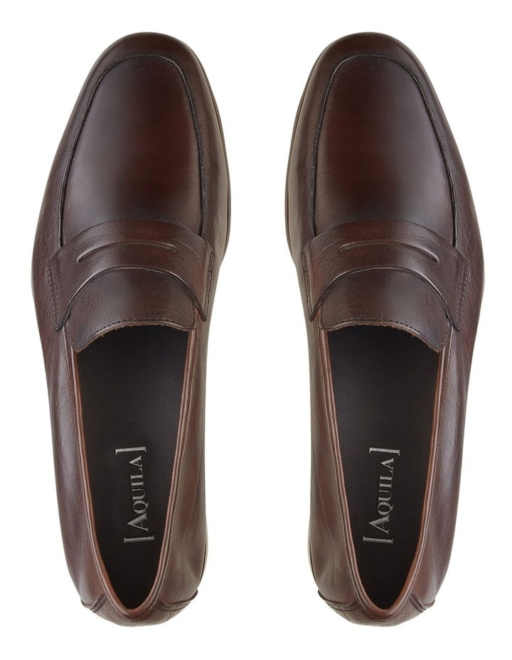 Eduardo Leather Penny Loafers image 3
