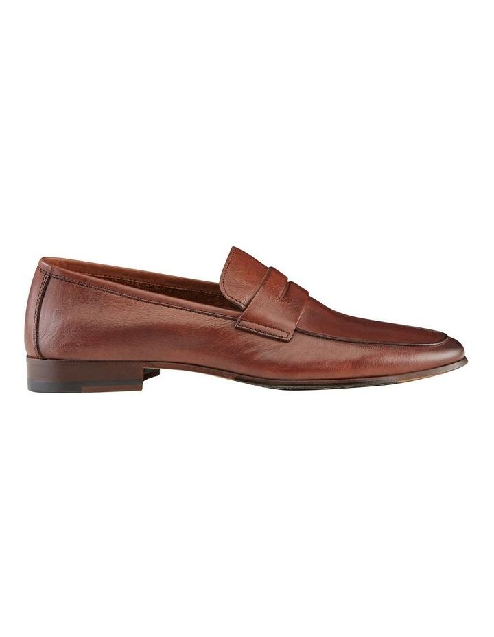 Eduardo Leather Penny Loafers image 1