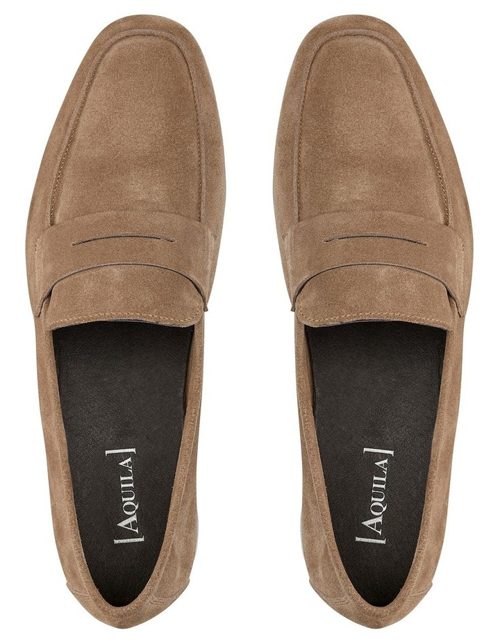 Miguel Suede Penny Loafers image 3