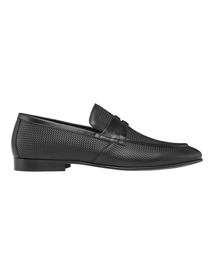 Cavarra Leather Penny Loafers image 1