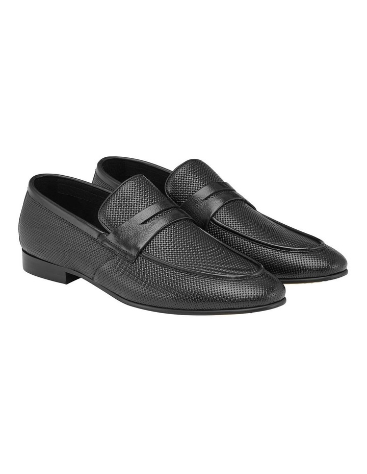 Cavarra Leather Penny Loafers image 2