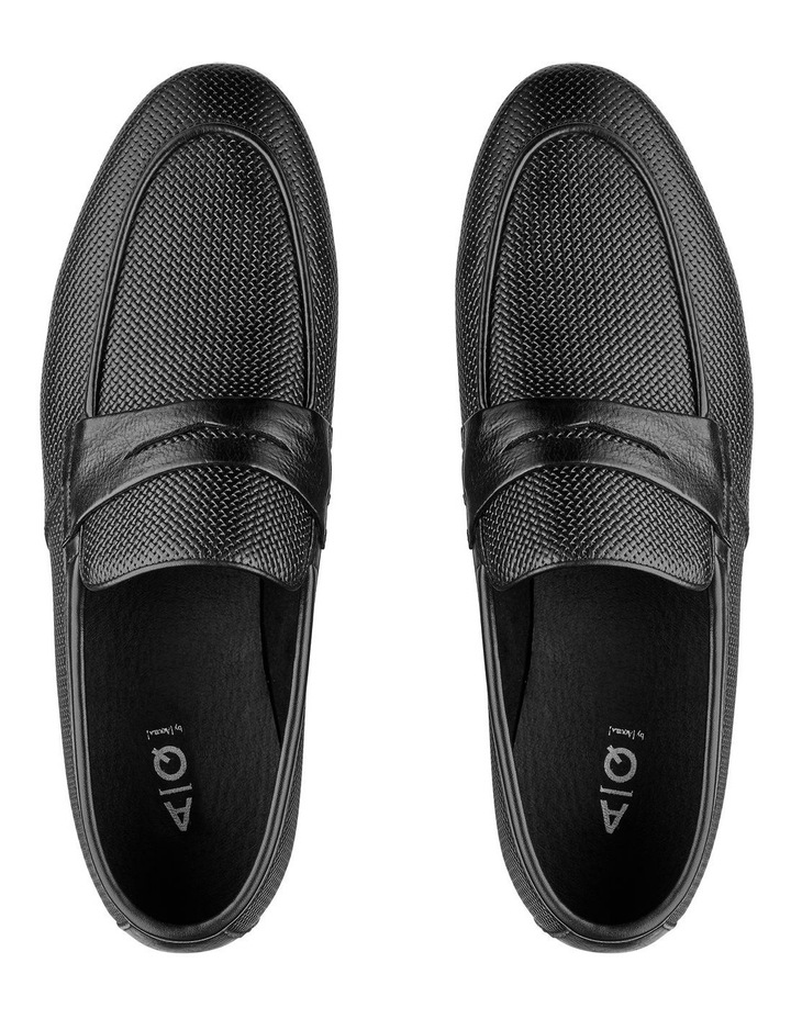 Cavarra Leather Penny Loafers image 3