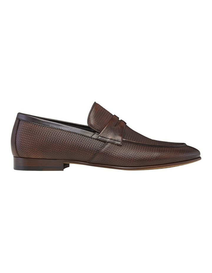 Carvarra Embossed Penny Loafers image 1