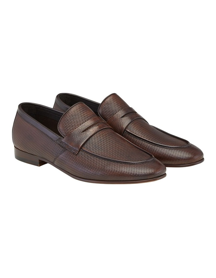 Carvarra Embossed Penny Loafers image 2