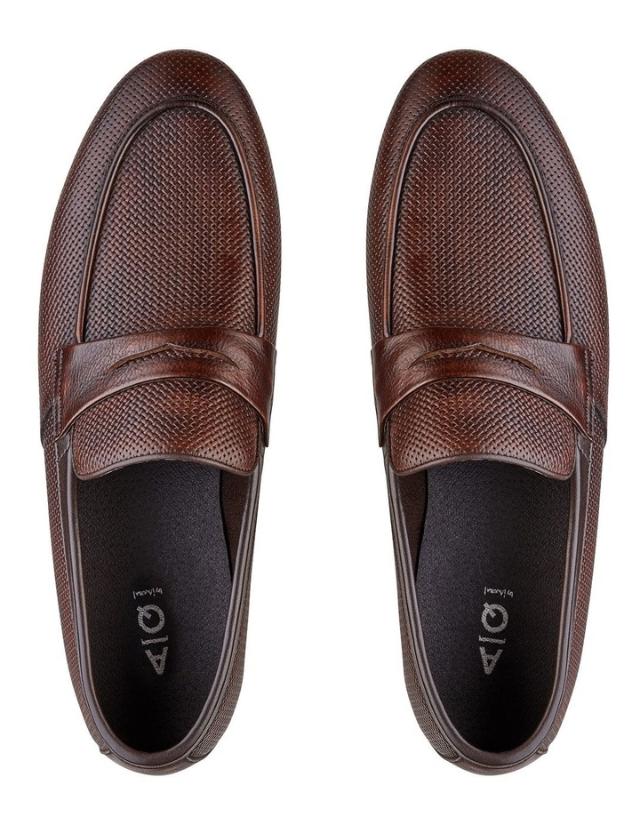 Carvarra Embossed Penny Loafers image 3
