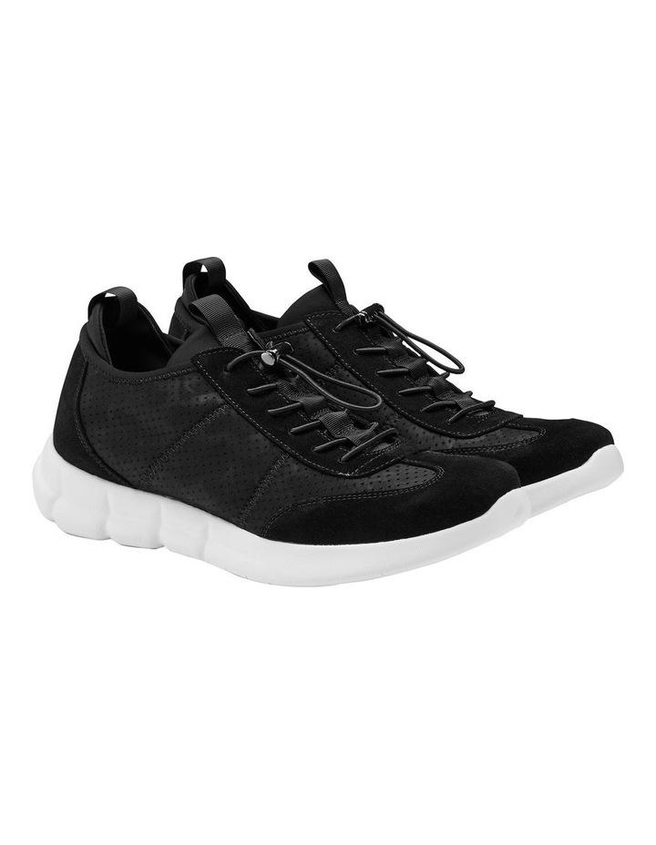 Zach Suede Nylon Sneakers image 2