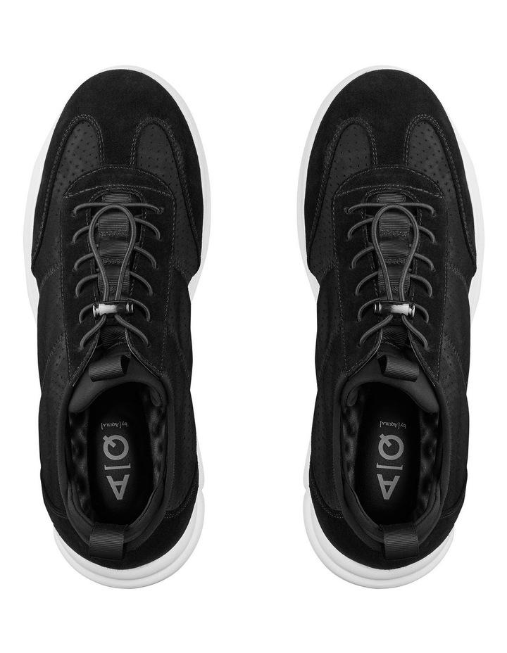 Zach Suede Nylon Sneakers image 3