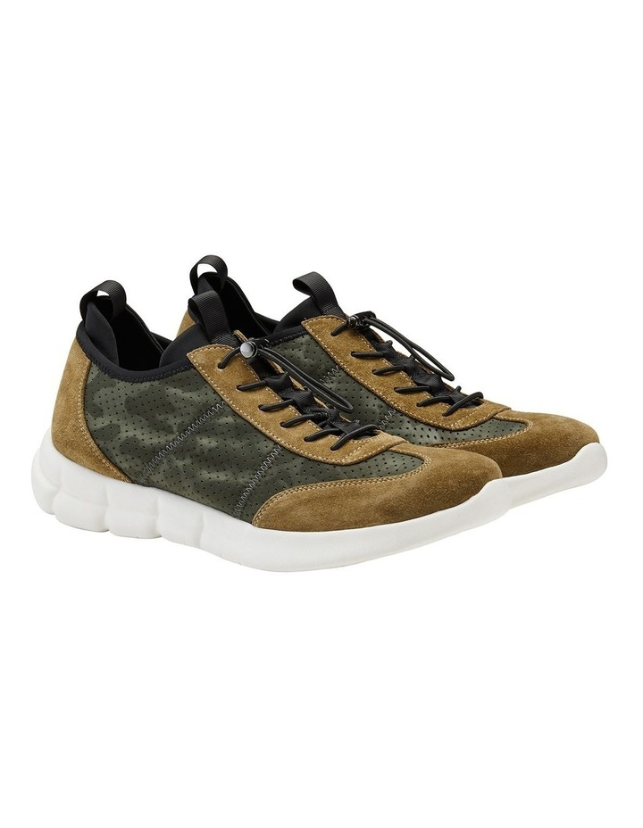 Zach Suede Nylon Sneakers image 2