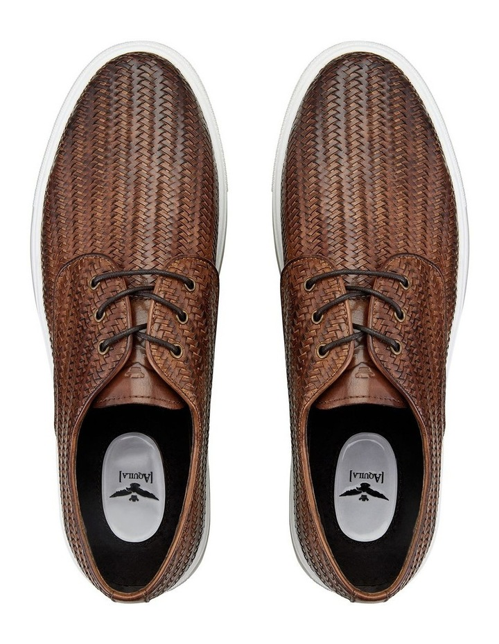 Spence Woven Leather Casual Shoes image 3