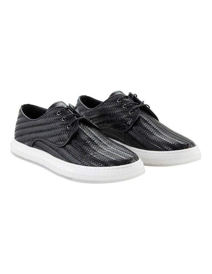 Spence Woven Leather Casual Shoes image 2