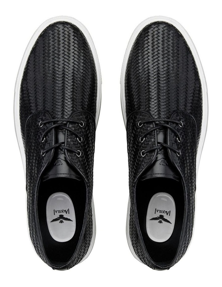 Spence Woven Leather Casual Shoes image 4