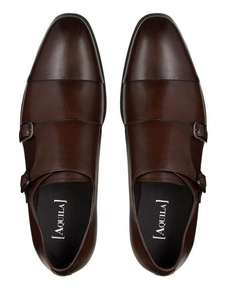 Batley Leather Double Monk Shoes image 3