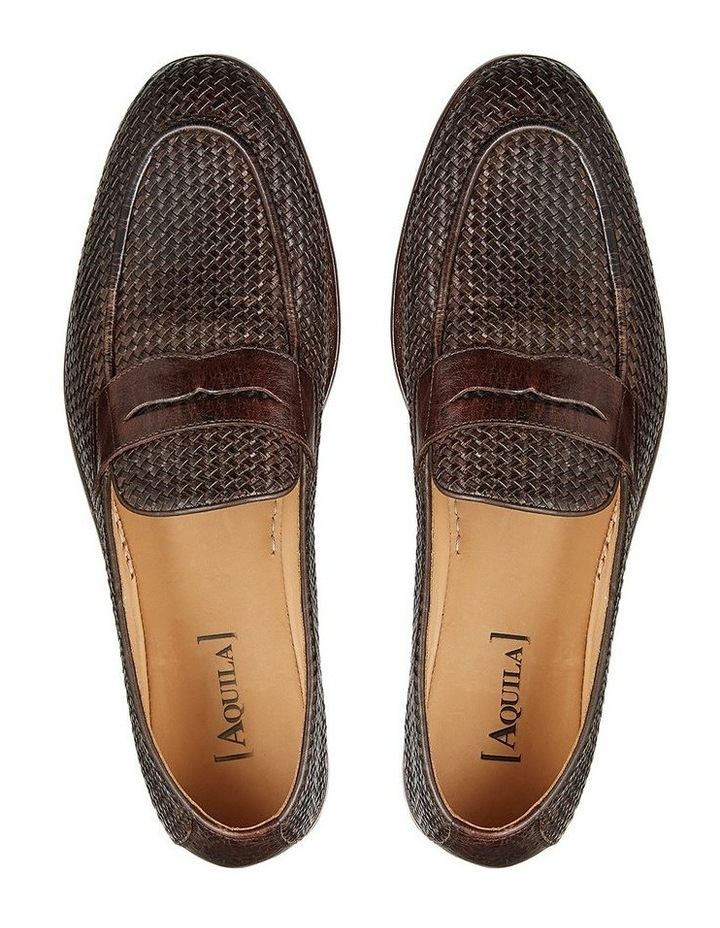 Damiano Leather Penny Loafers image 3