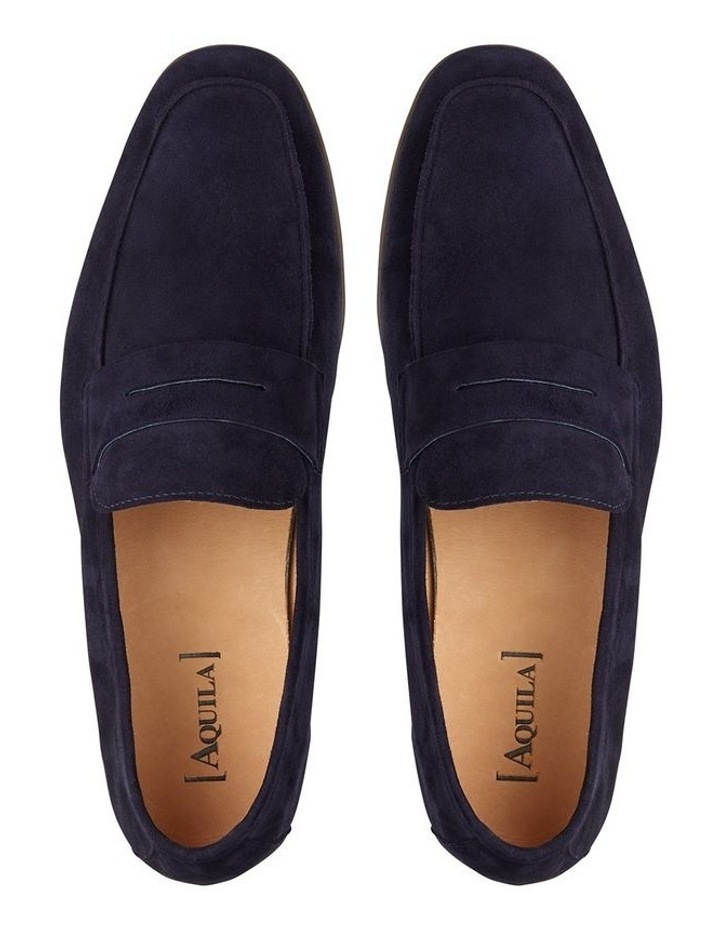 Manuel Suede Penny Loafers image 3