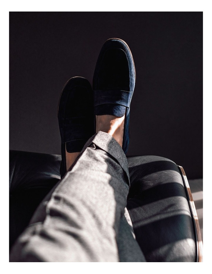 Manuel Suede Penny Loafers image 4