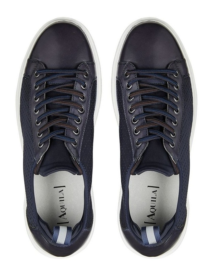 Soren Leather and Lycra Sneaker image 3