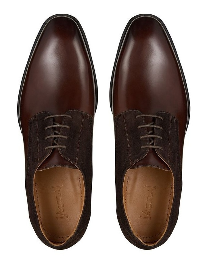 Emmanuel Leather and Suede Dress Shoe image 3
