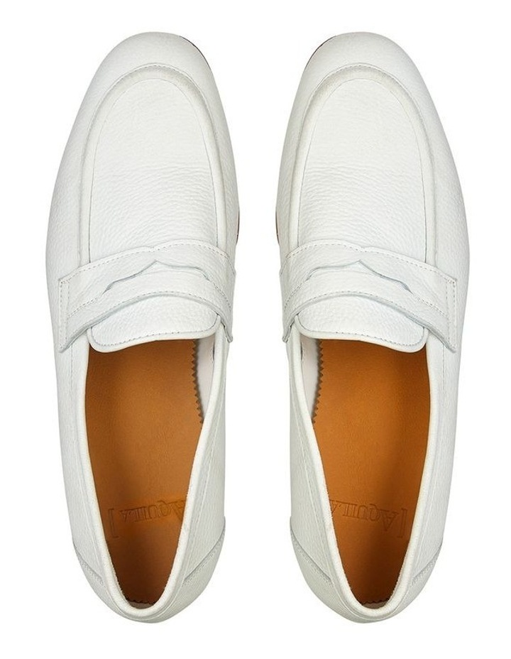 Lucio Leather Penny Loafers image 3