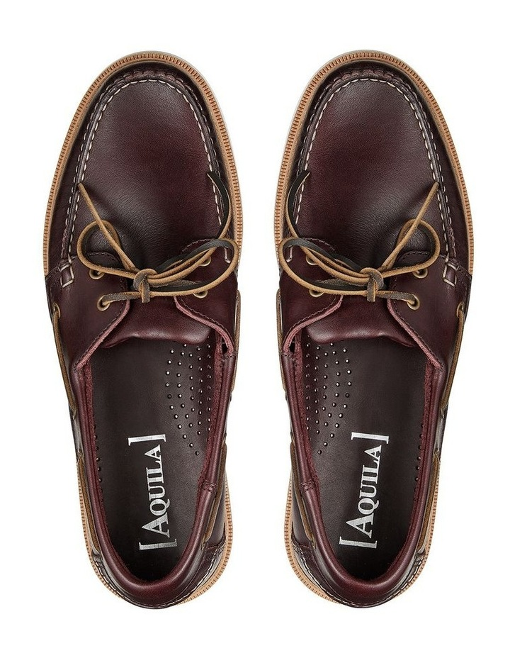 Vermont Leather Boat Shoes image 3