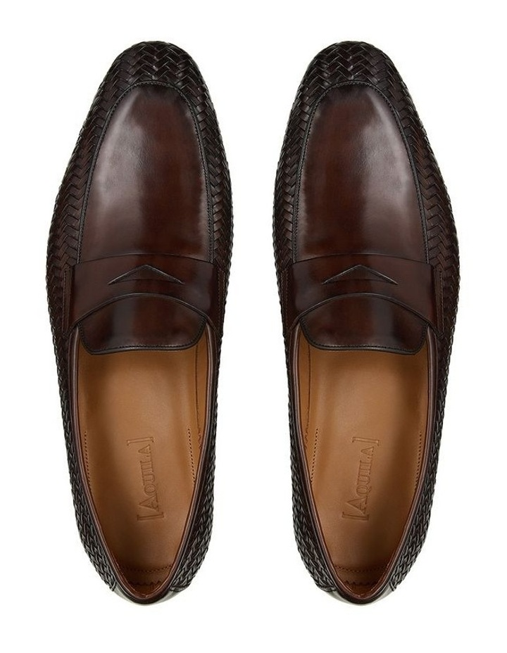 Wendell Leather Penny Loafers image 3