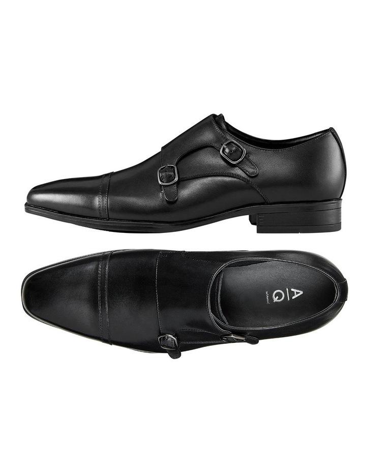 Gibney Leather Monk Strap Shoes image 2