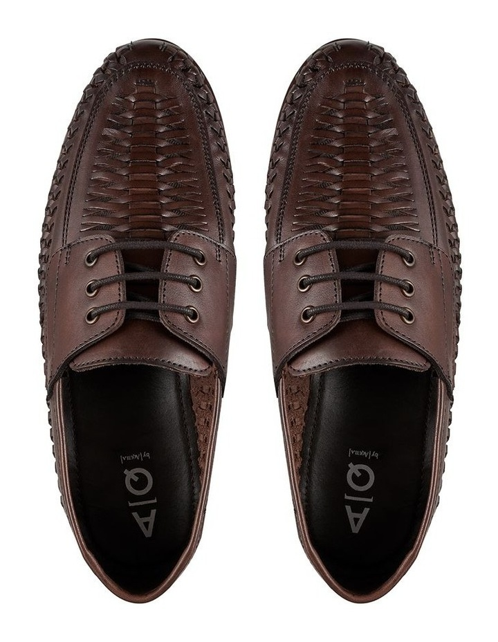 Reno Leather Woven Shoes image 3
