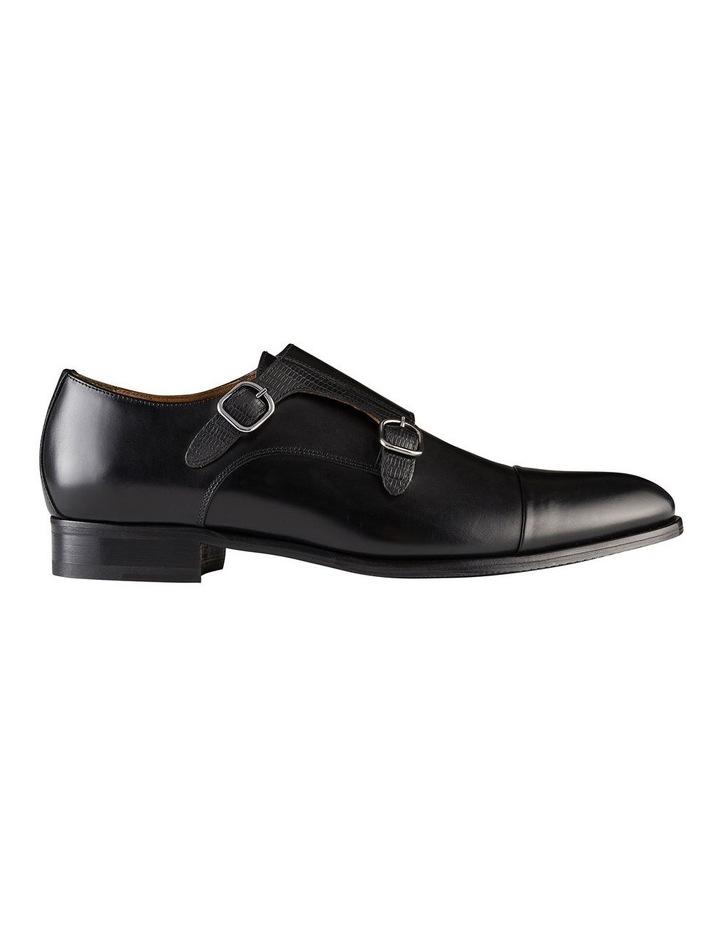 Defoe Leather Monk Strap Shoes image 1