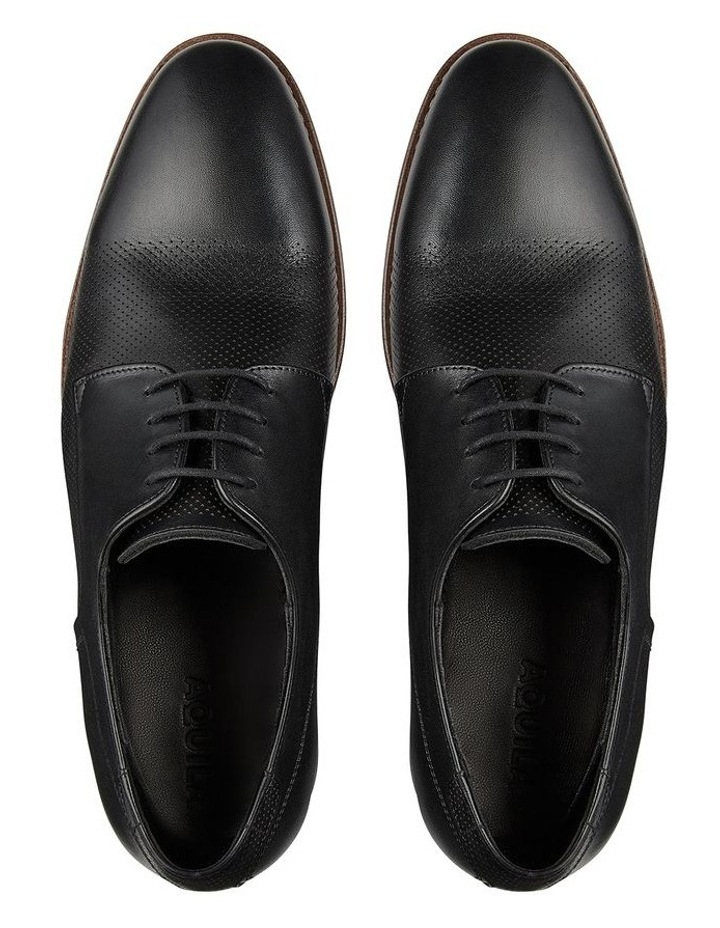 Withers Black Leather Dress Shoes image 3