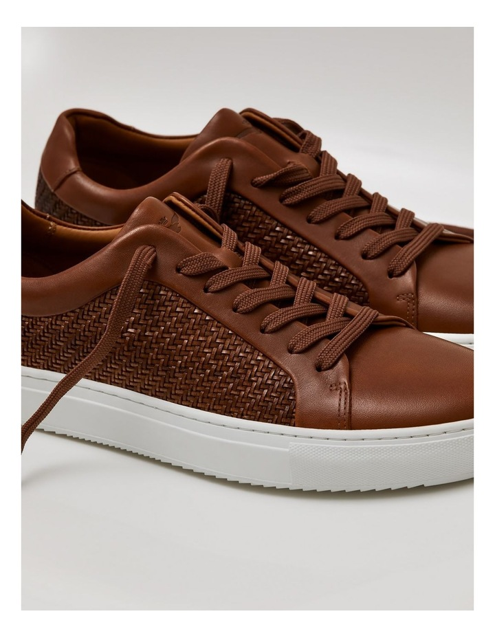 Aztec Leather Sneakers image 4