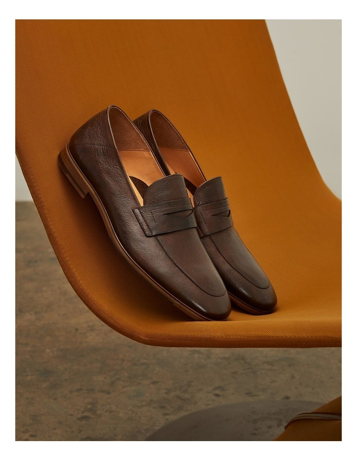 Fernando Leather Penny Loafers image 4