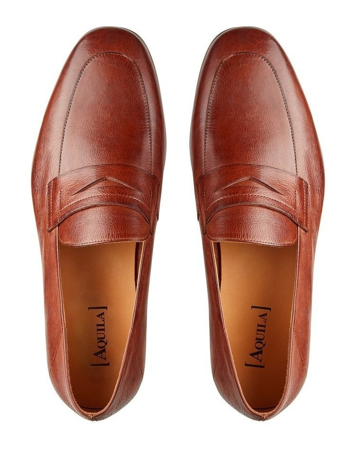 Fernando Leather Penny Loafers image 3