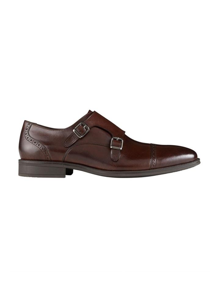 Dwayne Leather Monk Strap Shoes image 1