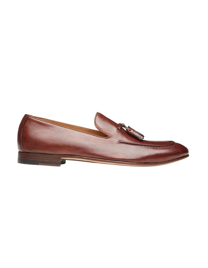 Alberto Tan Leather Loafers image 1