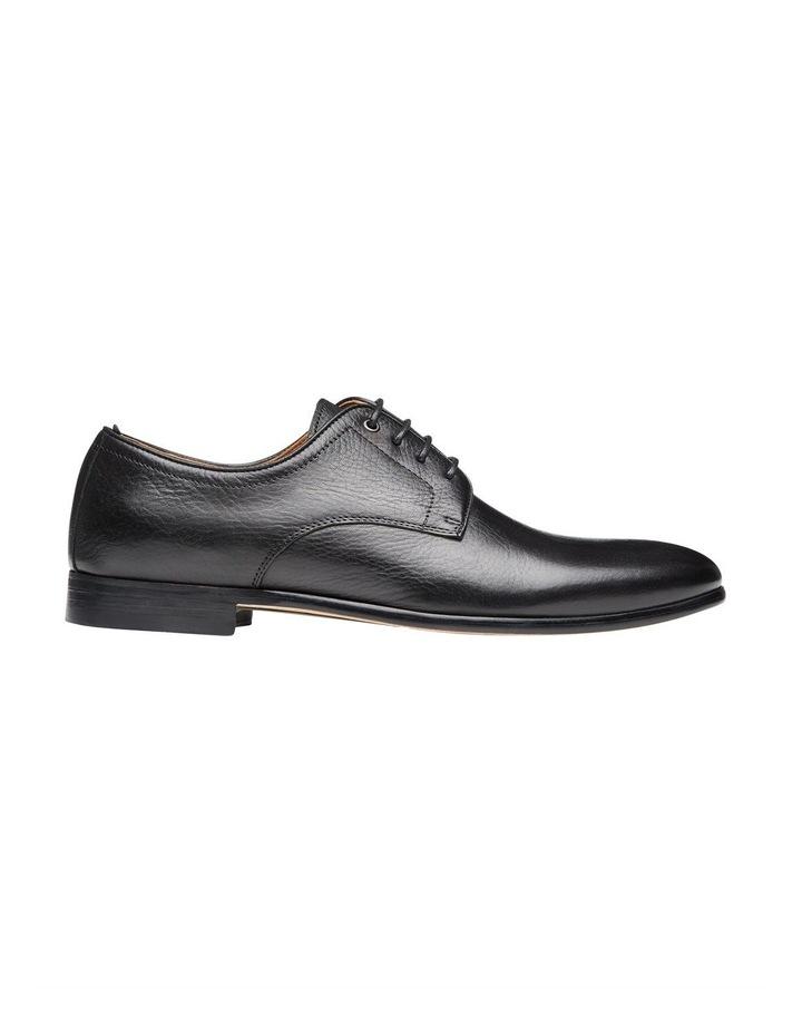 Astor Black Leather Dress Shoes image 1