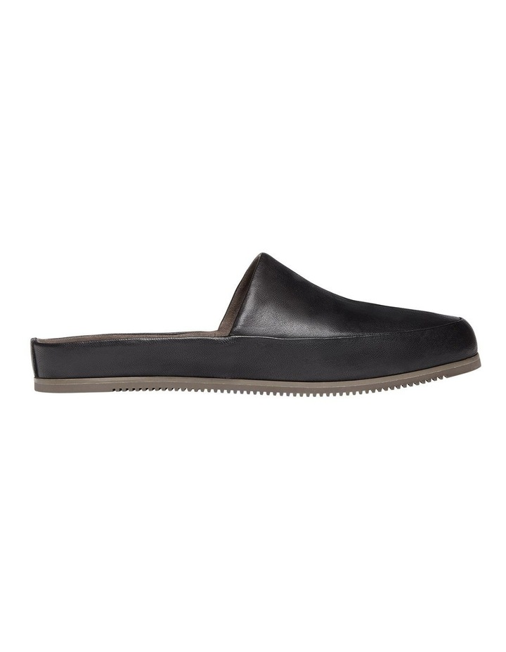 Edmonton Black Leather Slippers image 1