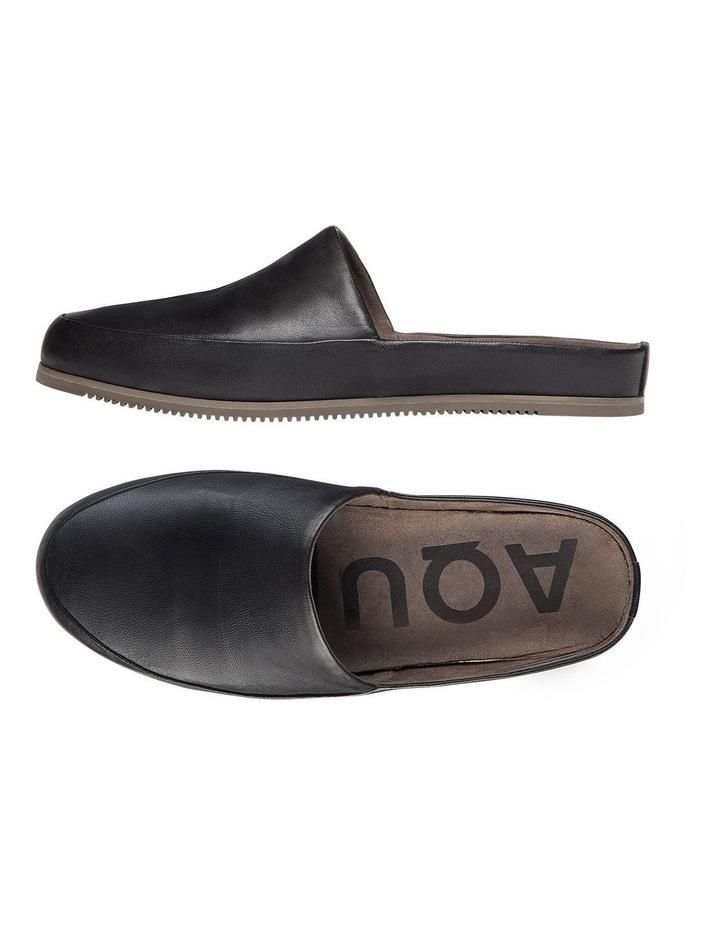 Edmonton Black Leather Slippers image 2