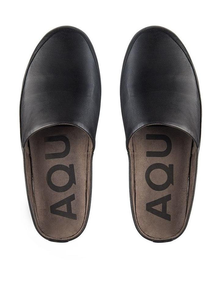 Edmonton Black Leather Slippers image 3