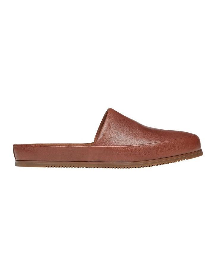 Edmonton Tan Leather Slippers image 1