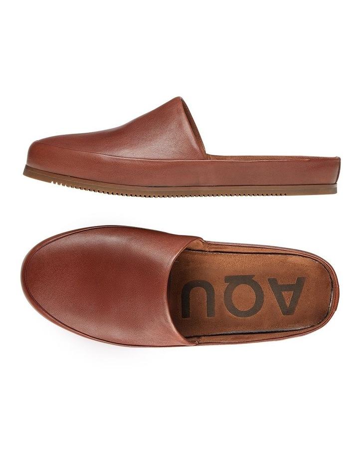 Edmonton Tan Leather Slippers image 2