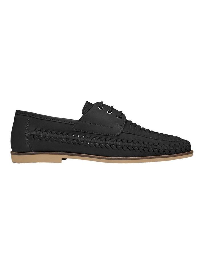 Rowan Black Nubuck Casual Shoes image 1