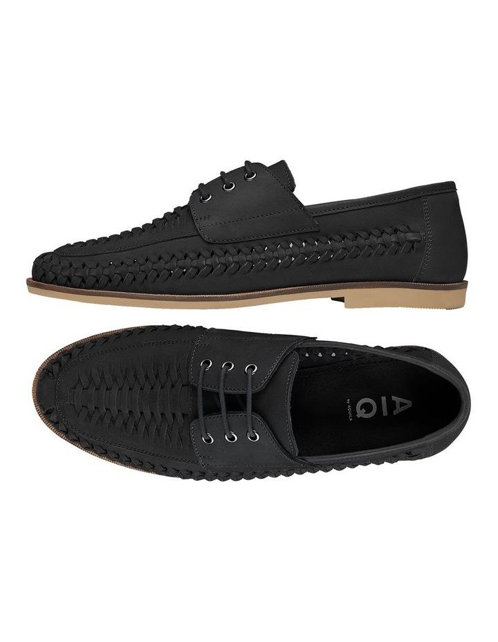 Rowan Black Nubuck Casual Shoes image 2