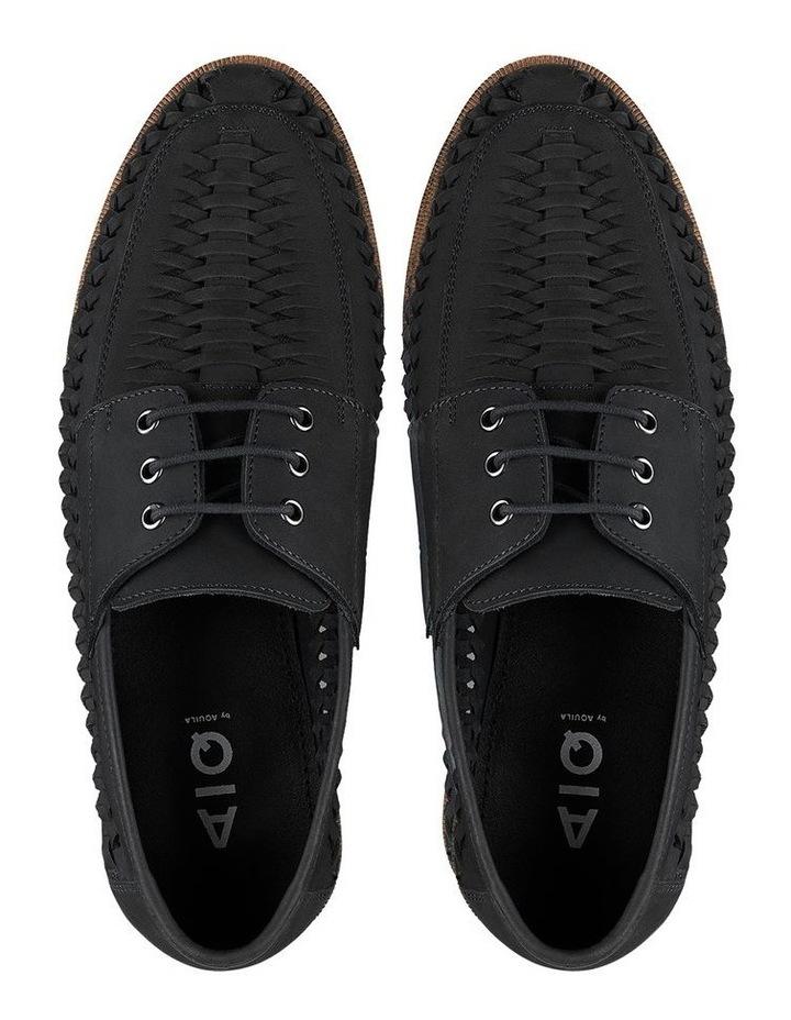 Rowan Black Nubuck Casual Shoes image 3