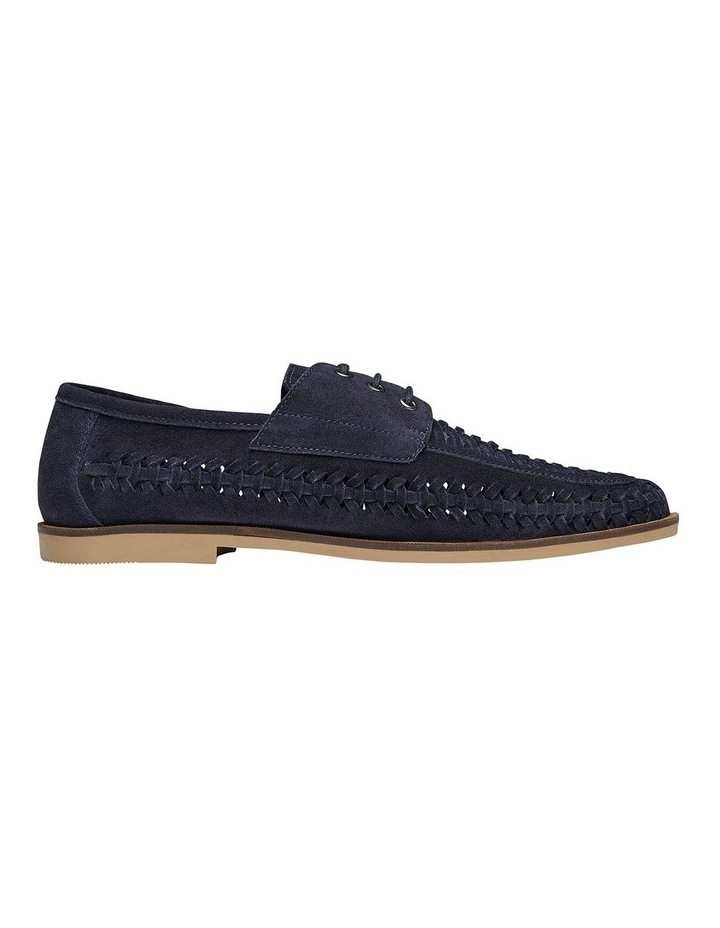 Rowan Navy Suede Casual Shoes image 1