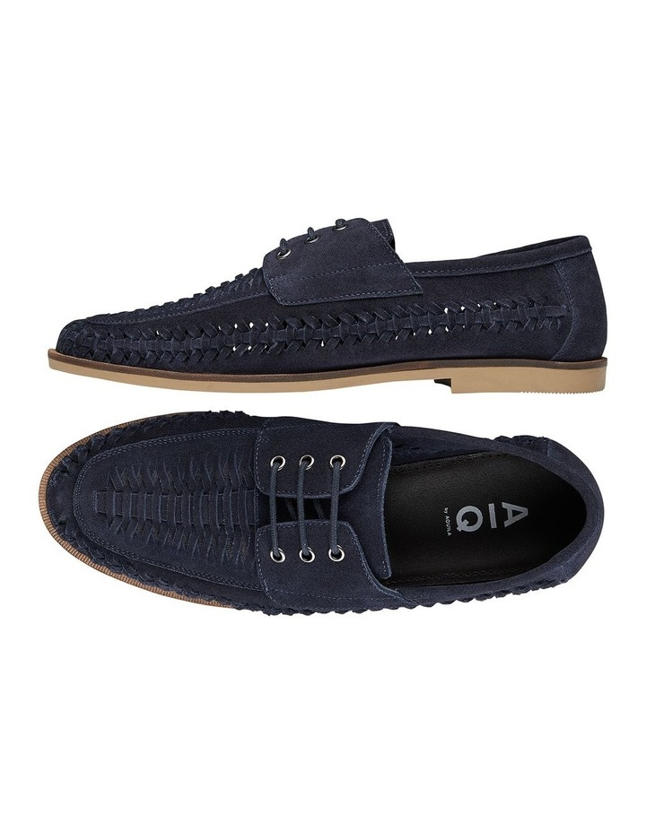 Rowan Navy Suede Casual Shoes image 2