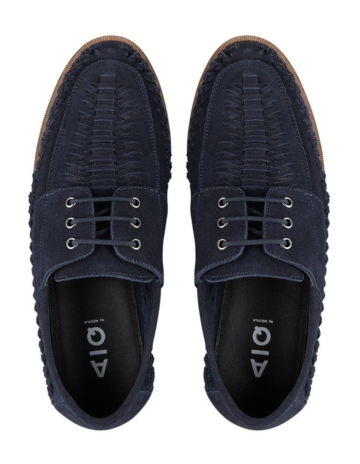 Rowan Navy Suede Casual Shoes image 3