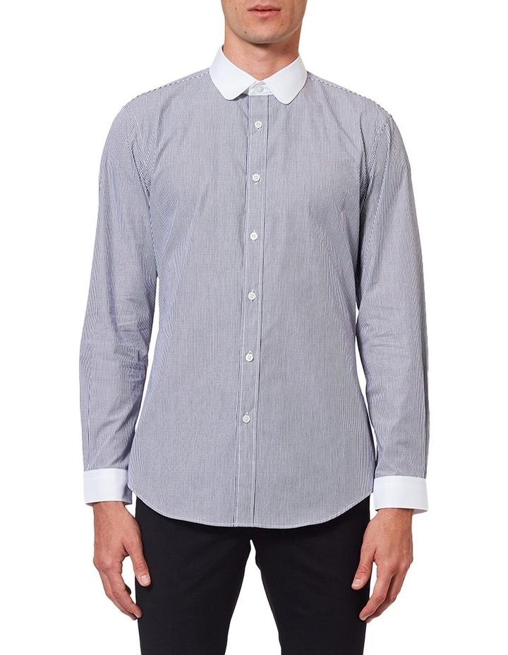 Curved Collar LS Shirt image 1