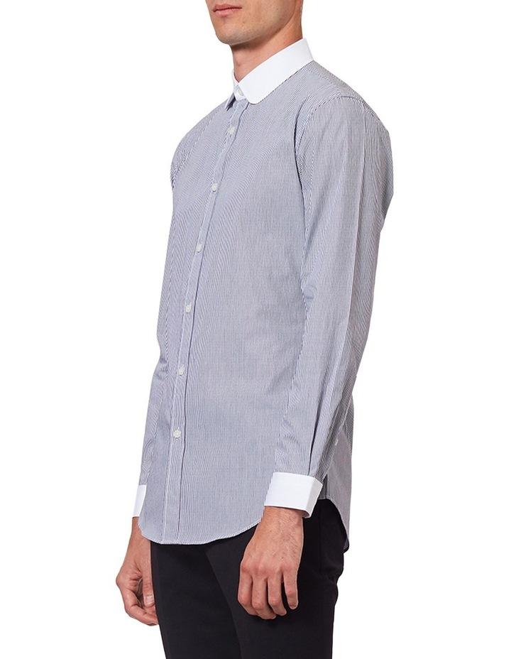Curved Collar LS Shirt image 2