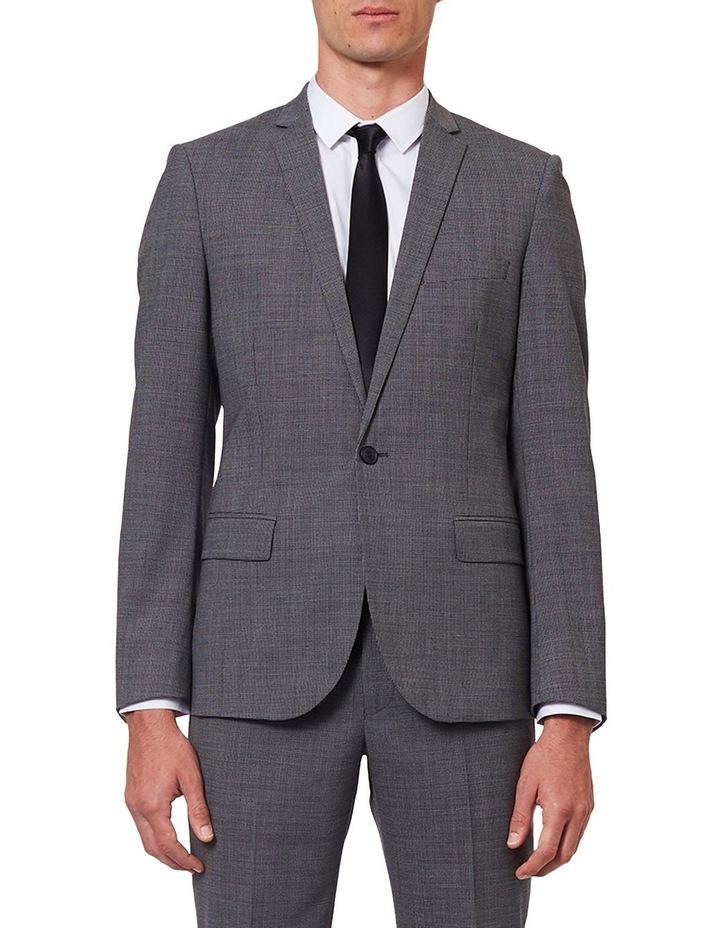Dark Sharkskin Suit Jacket image 1